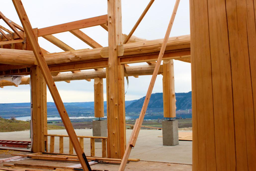 Cabin Building North Central Washington