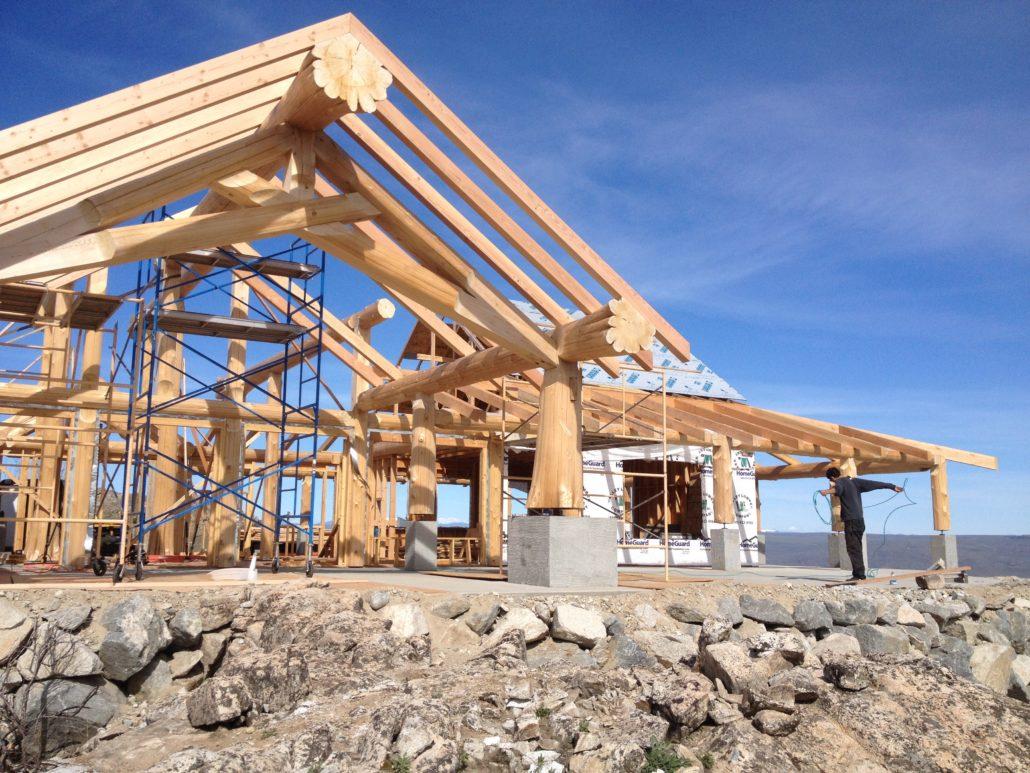 Building Cabin in North Central Washington