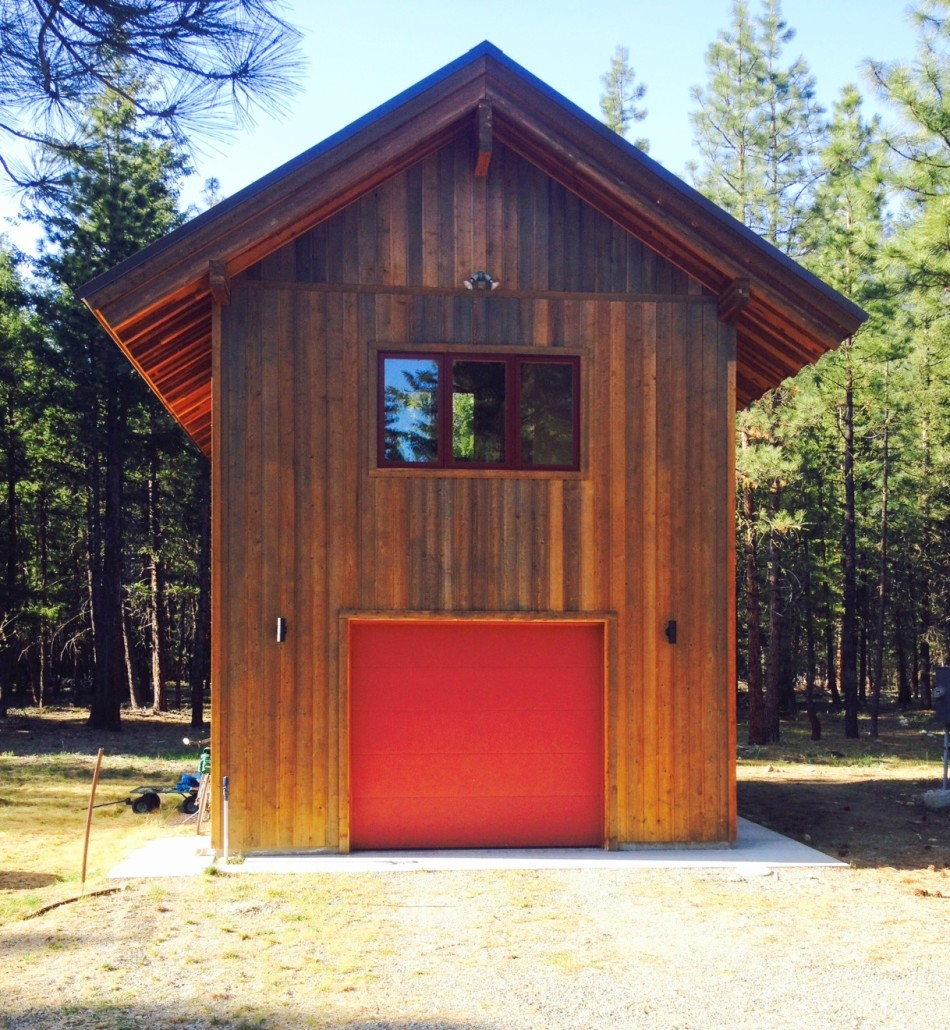 Building a Garage in Methow Valley