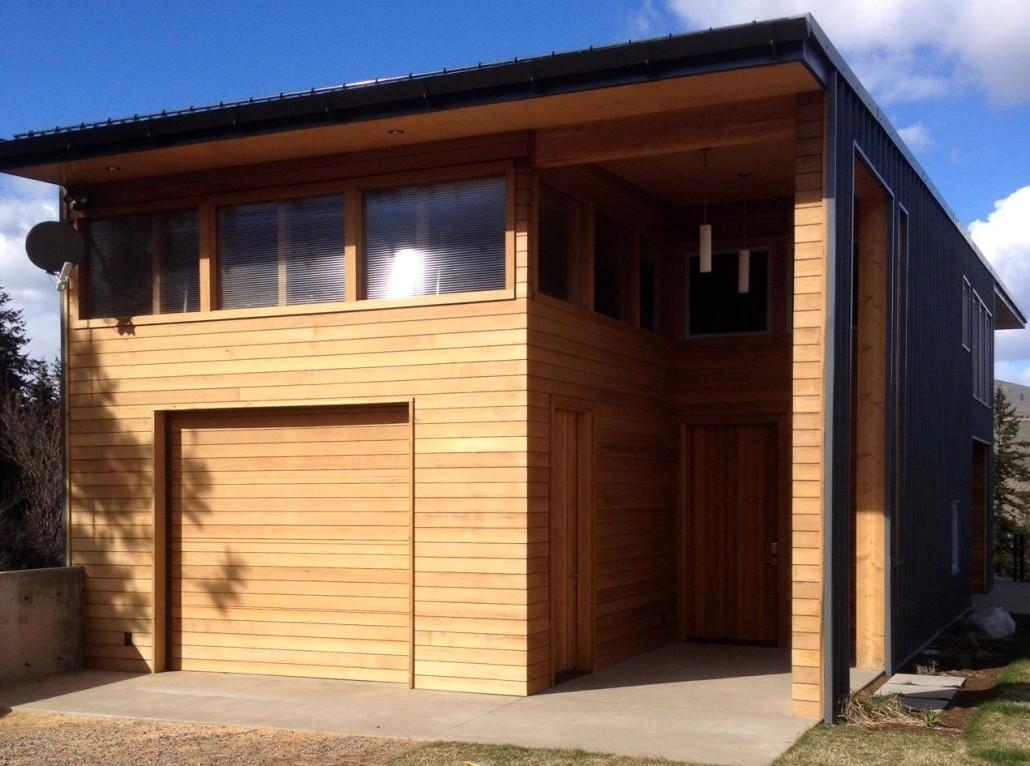 Building a Garage in Winthrop