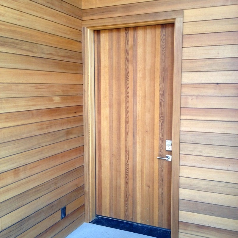 Custom Cedar Door
