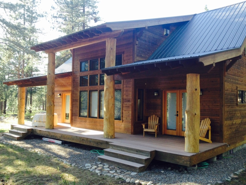 Cabin Built in Mazama