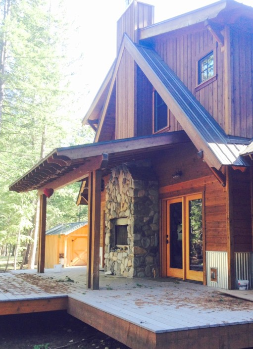 Mazama Traditional Cabin