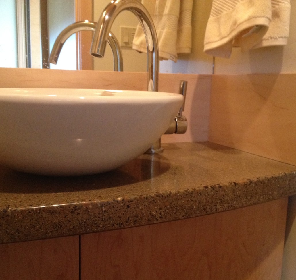 Unique Sinks in Methow Valley Home