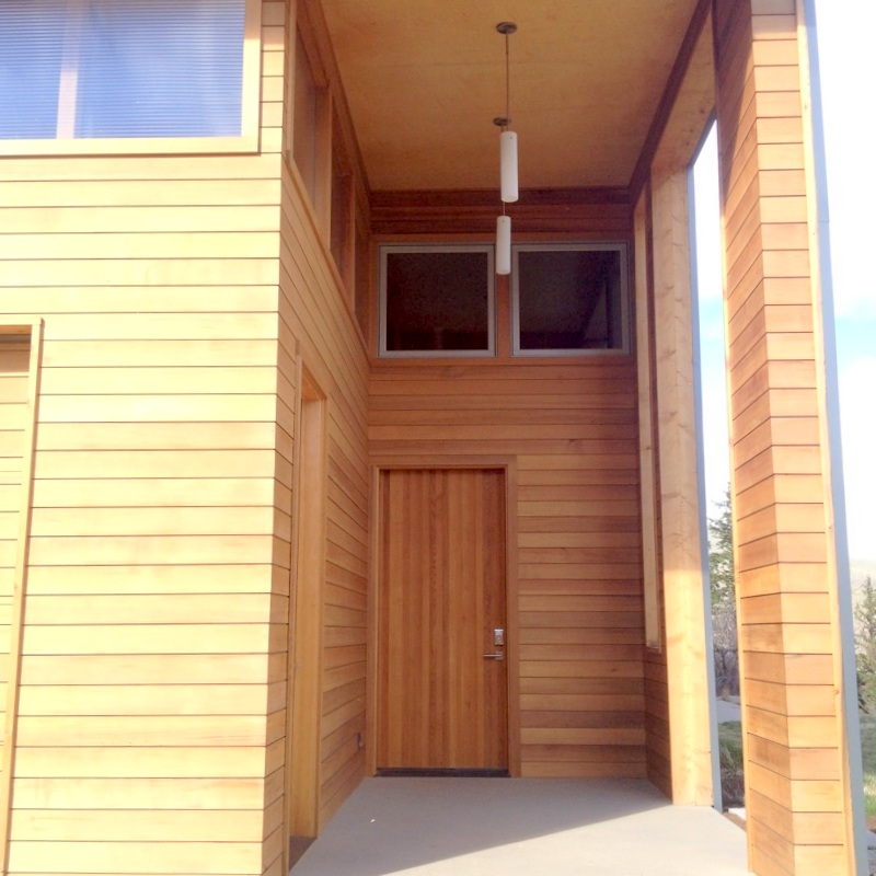 Entry of Methow Valley Home