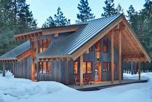 Winter Cabin in Methow Valley